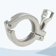 stainless steel food grade 13MHHM heavy duty ferrule clamp