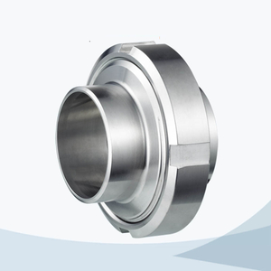 stainless steel hygienic 13R SMS long type complete union