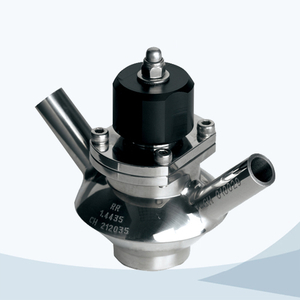 stainless steel food grade aseptic sample cock valve