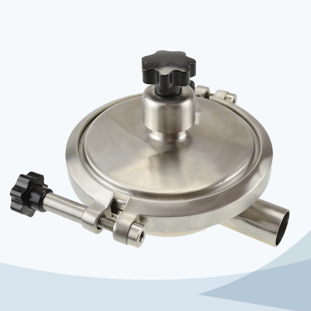 stainless steel sanitary grade constant pressure regulating CPM valve