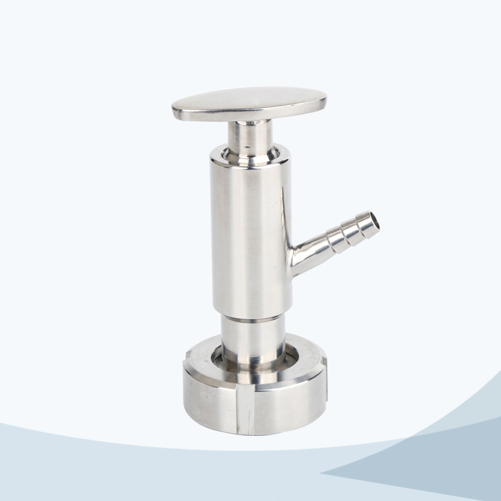 stainless steel sanitary grade sampling valve