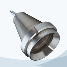 Sanitary welded connection sight light