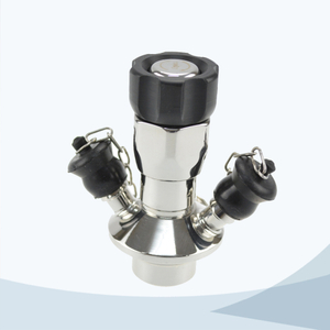 stainless steel food equipment aseptic sampling valve