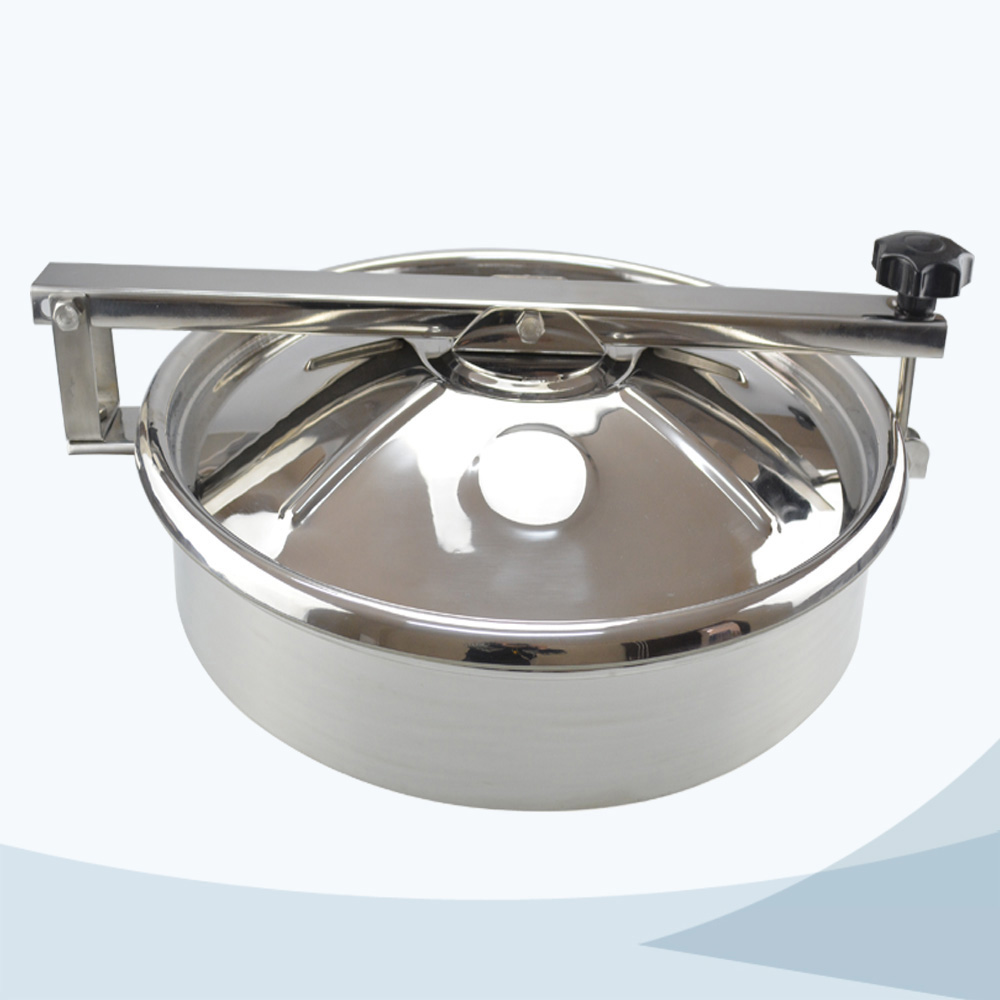 stainless steel food processing round non pressure manhole cover