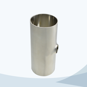 stainless steel food equipment 7WP butt weld reducing short tee