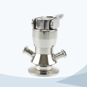 stainless steel food processing aseptic sampling valve