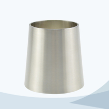 stainless steel hygienic grade welded concentric reducer