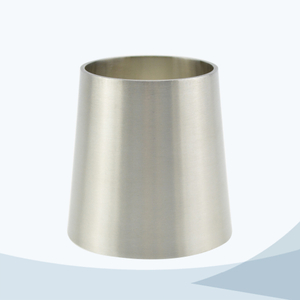 stainless steel hygienic grade 31W welded concentric reducer