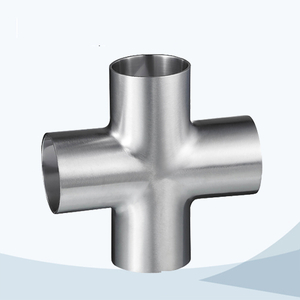stainless steel hygienic grade 9W welded equal cross