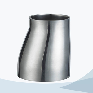 stainless steel sanitary welded eccentric reducer