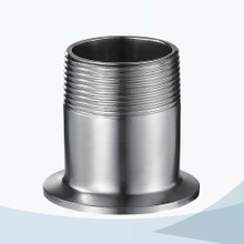stainless steel sanitary grade male threading triclover nipple
