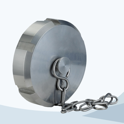 stainless steel food processing 13RBN solid end cap with chain