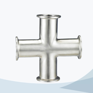 stainless steel food equipment 9MP clamped cross