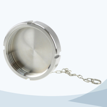 stainless steel hygienic grade 13RBN blind nut with chain