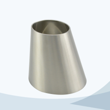 stainless steel hygienic welded concentric reducer