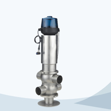 stainless steel hygienic double seat mixproof valve