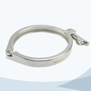 stainless steel hygienic grade 13mhhm heavy duty triclover clamp