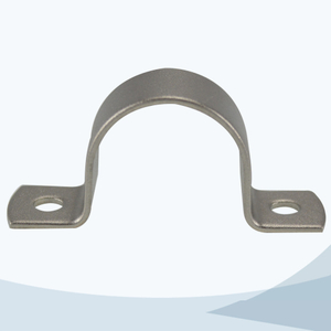 stainless steel food equipment U type round pipe support